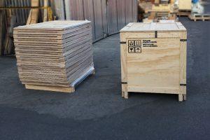Wooden Box BENZ Packaging
